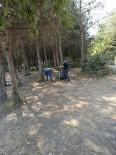 Kurugöl Tabiat Parkında Çevre Temizliği Yapıldı