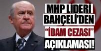 TÜRK CEZA KANUNU - MHP lideri Devlet Bahçeli'den flaş açıklama!