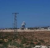 HAVA SALDIRISI - Rus savaş uçaklarından İdlib'e hava saldırısı