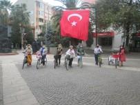 'Süslü Kadınlar Erdek Bisiklet Turu' Yapıldı