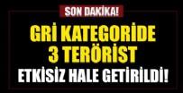 JANDARMA - Gri kategoride 3 terörist etkisiz hale getirildi
