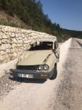 Kastamonu'da Yoldan Çıkan Otomobil Takla Attı Açıklaması 2 Yaralı