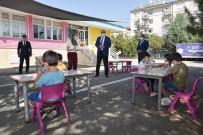 Konya'da Yüz Yüze Eğitimin İlk Günü Başladı