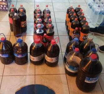 Nevşehir'de 192 Litre Kaçak Şarap Ele Geçirildi