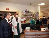 SALDıRı - Bakan Koca'dan o hastaneye ziyaret!