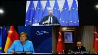 DIYALOG - Başkan Erdoğan, AB Konsey Başkanı ve Merkel ile görüştü!