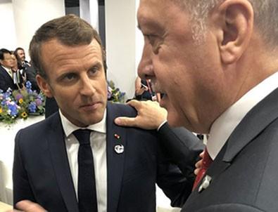 Başkan Erdoğan Macron ile görüştü!