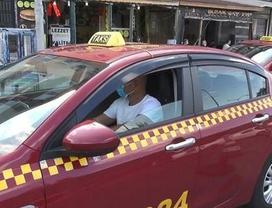 Bordo taksiler sarıya döndü! Taksiciler isyan bayrağını çekti