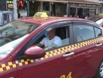 ULAŞıM KOORDINASYON MERKEZI - Bordo taksiler sarıya döndü! Taksiciler isyan bayrağını çekti