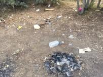 Çiçekdağı İlçesinde Piknik Alanları, Duyarsız İnsanlar Nedeniyle Çöp  Alanlarına  Dönüştü