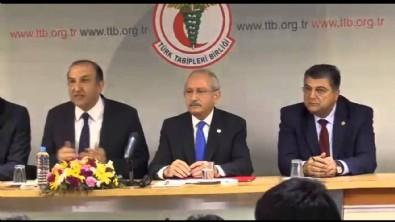 Kılıçdaroğlu'ndan provokasyon! Tarihi doğal gaz keşfini bile konuşmayan Kılıçdaroğlu TTB'de