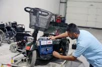 Küçükçekmece'de Engelli Araçlarının Ücretsiz Bakım Ve Tamir Çalışmaları Sürüyor