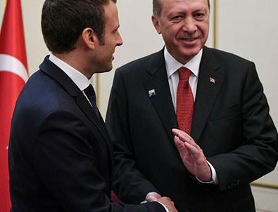 Macron'dan dikkat çeken Türkiye açıklaması!