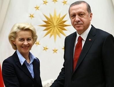 Erdoğan AB Komisyon Başkanı ile görüştü