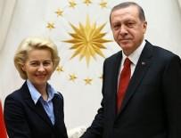DOĞU AKDENİZ - Erdoğan AB Komisyon Başkanı ile görüştü