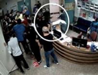 POLİS - O görüntüler ortaya çıktı! Magandalar hastaneyi böyle basmış!