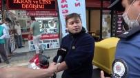 (Özel)- Tuzla'da Maskesiz Şahıstan Polise Tehdit