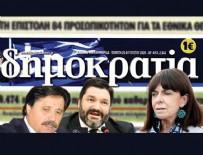 YUNANISTAN CUMHURBAŞKANı - Yunan gazetesi alçaklığa devam ediyor