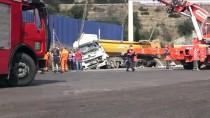 Adana'da İki Kamyonun Çarpışması Sonucu 1 Kişi Öldü, 1 Kişi Yaralandı