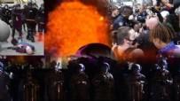 PROTESTO - Bu görüntüler ABD'de çekildi! Ordu resmen sokakta