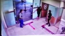 İstanbul'da Sinir Krizi Geçiren Kadın Hastane Polislerine Saldırdı