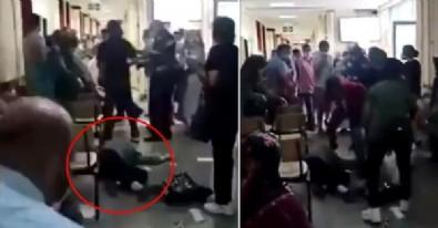 Çapa Tıp Fakültesi'nde dehşet! Maske uyarısına sinirlenip sağlık çalışanını dövdü!