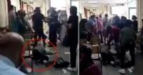 POLİS - Çapa Tıp Fakültesi'nde dehşet! Maske uyarısına sinirlenip sağlık çalışanını dövdü!