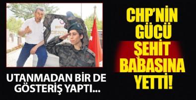 CHP'nin gücü şehit babasına yetti