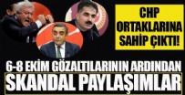 HÜSEYİN AYGÜN - CHP ortağına sahip çıktı! 6-8 Ekim gözaltıları için skandal paylaşımlar...