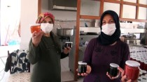 Güdül'de Kadın Muhtar Öncülüğünde Kurulan Kooperatif Üretime Geçti