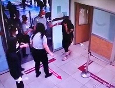 Hastaneyi birbirine katan kadın! Adliyede de taşkınlık çıkarttı!