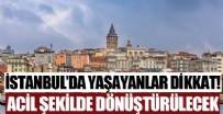 KANALİZASYON - İstanbul'daki depreme ilişkin Bakan Kurum'dan son dakika açıklaması