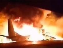 UKRAYNA - Ukrayna'da askeri uçak düştü!