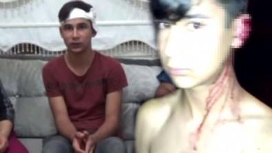 15 yaşındaki çocuğu direğe bağlayıp kulağını kestiler!