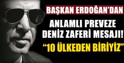Başkan Erdoğan'dan anlamlı mesaj!