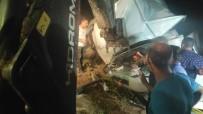 Bursa'da Kamyonet Şarampole Yuvarlandı Açıklaması 2 Yaralı