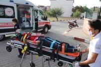 Kula'da Motosiklet Kazası Açıklaması 1 Ağır Yaralı