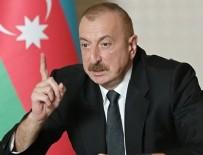 HAVA KUVVETLERİ - Cumhurbaşkanı Aliyev: Şehitlerimizin kanı yerde kalmayacak