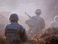 HAVA KUVVETLERİ - Ermenistan'dan Azerbaycan'a alçak saldırı!