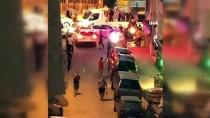 Küçükçekmece'de Pompalıyla Metruk Bina Önünde Uyuşturucu İsyanı