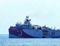 ANTALYA - Oruç Reis, Antalya Limanı'ndan ayrıldı! Yeni görevine hazır