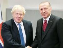 BORİS JOHNSON - Başkan Erdoğan'dan kritik görüşme!