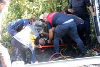 Kastamonu'da Freni Boşalan Kamyon Devrildi Açıklaması 1 Yaralı
