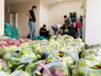Mardin'de İhtiyaç Sahiplerine Ücretsiz Sebze Ve Meyve