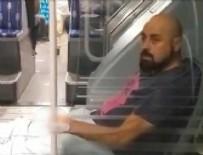 Metrobüste rezalet! Kimseye aldırmadı