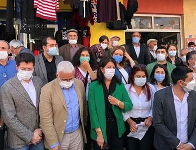 HDP'li vekillerden polise tehdit!