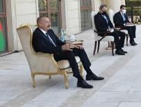 AZERBAYCAN CUMHURBAŞKANI - Cumhurbaşkanı Aliyev, Yunan Büyükelçinin yüzüne söyledi: Akdeniz'de Türkiye'yi tereddütsüz destekliyoruz