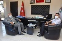 Jandarma Komutanı Özkan'dan Başkan Bozkurt'a Ziyaret
