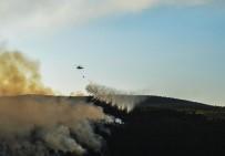 Kastamonu'da Dün Başlayan Orman Yangını Söndürüldü