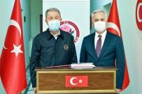 Milli Savunma Bakanı Akar, Isparta'da İncelemelerde Bulundu